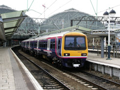 Northern Rail Class 323 EMU at Manchester Piccadilly